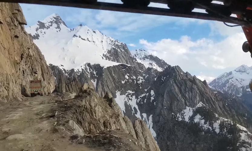 A Drive through the Himalayas